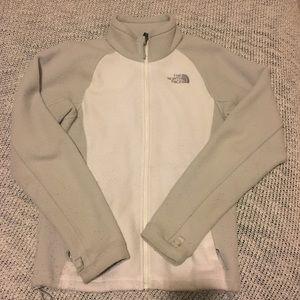 Women's North Face Fleece Zip-Up Jacket